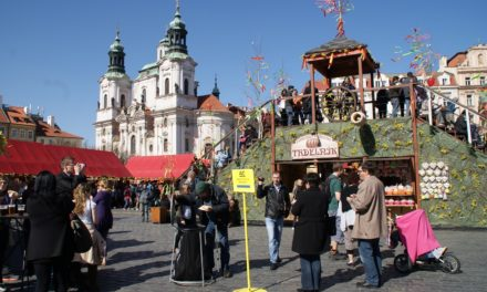 Påskemarked i Praha