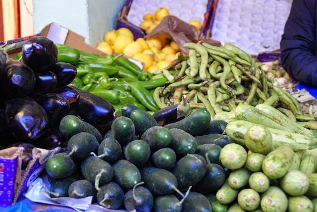 Markedet i Marrakech