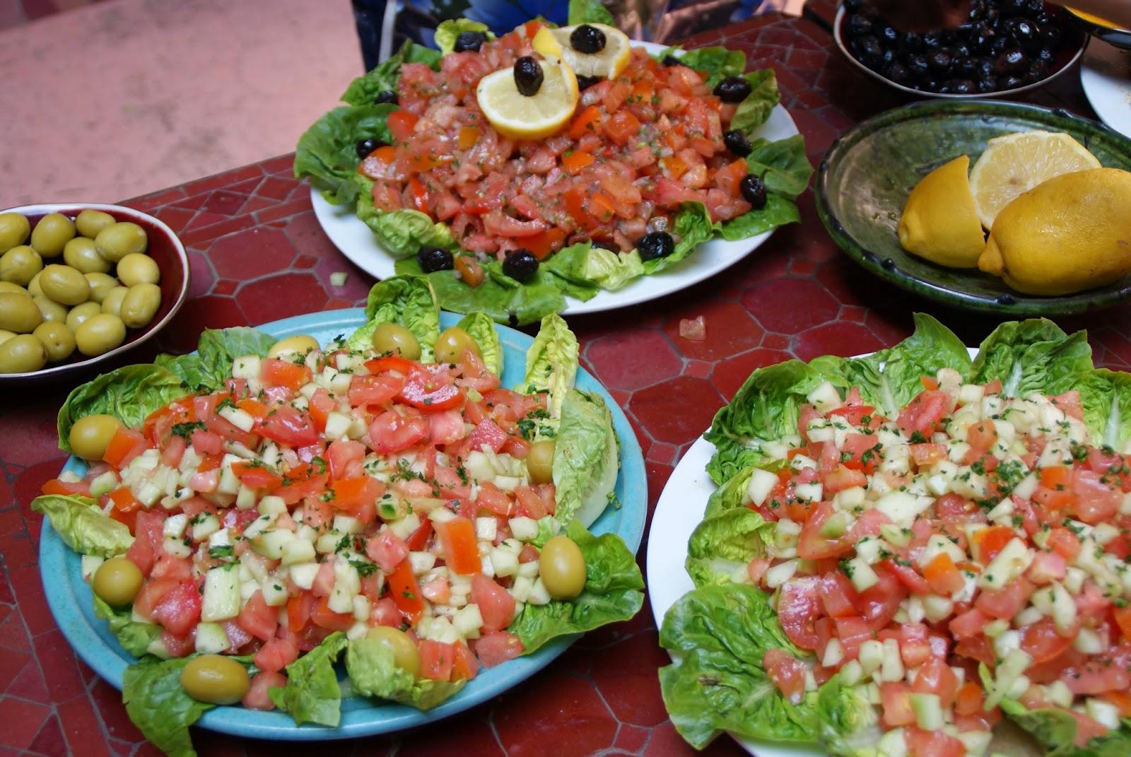 Marokkanske salater