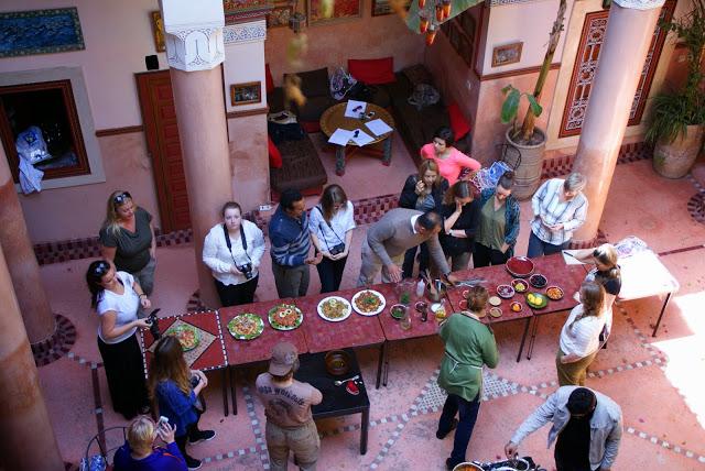 Marokkansk kokekurs