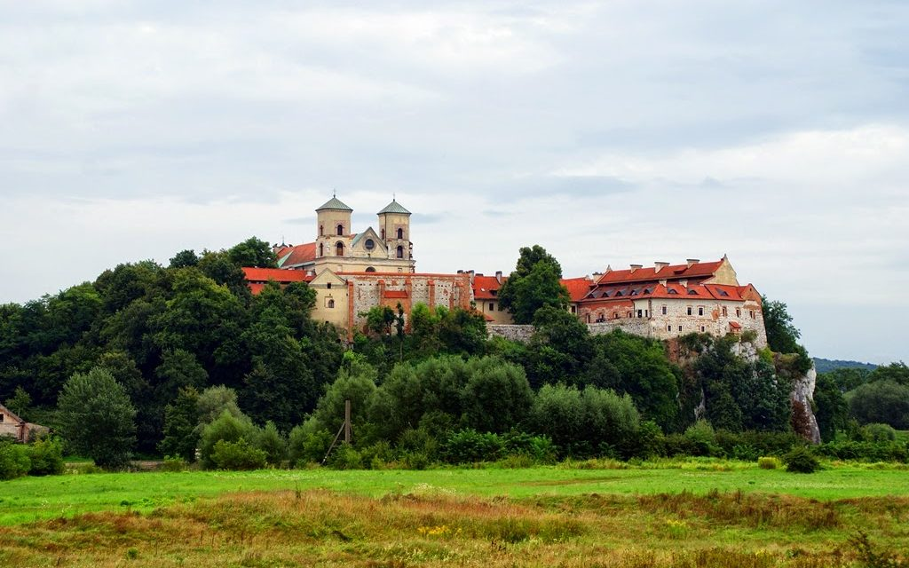 Besøk på Benedictine klosteret i Tyniec, Krakow