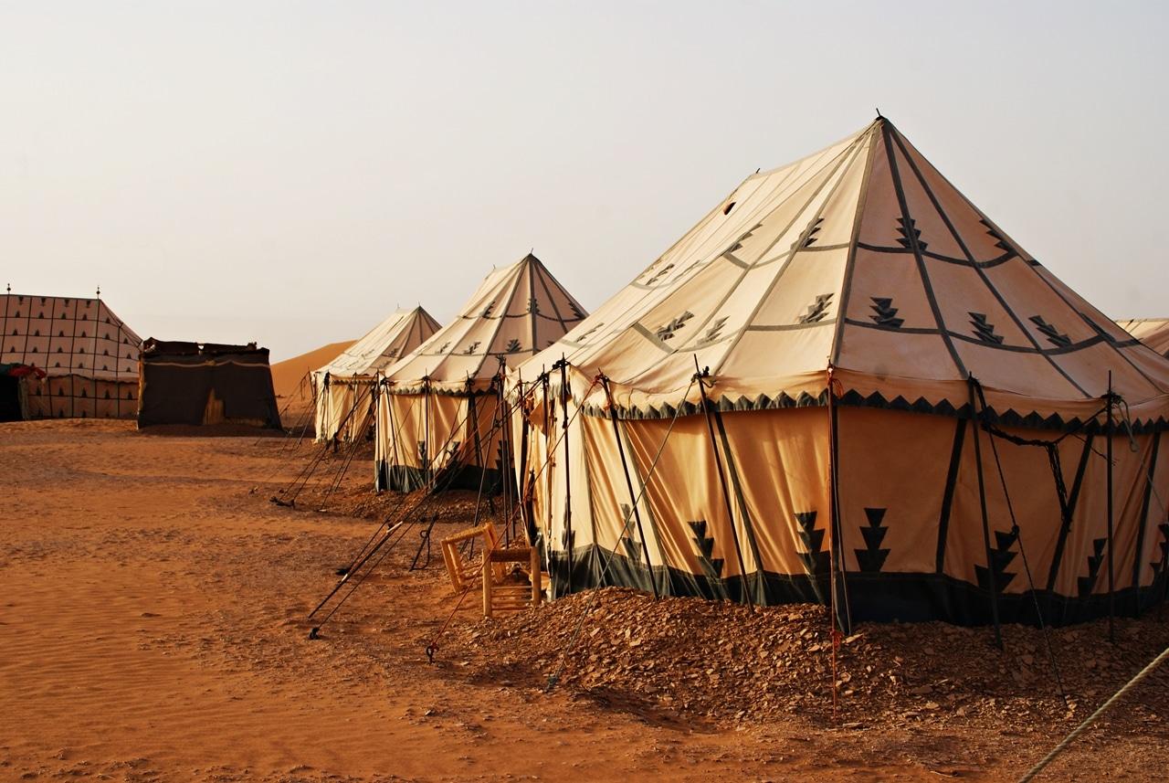 Marokkansk ørkencamp