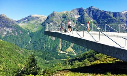 Utsikten – the fabulous new viewpoint in Norway
