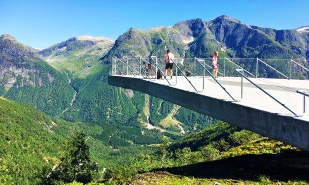 Utsikten – the fabulous new viewpoint in Norway