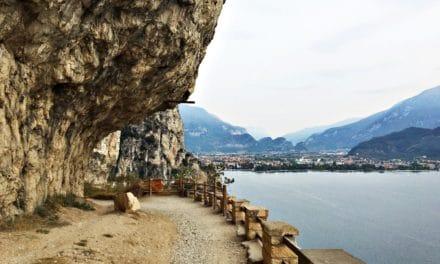 Ponale stien – en luftig spasertur langs Gardasjøen
