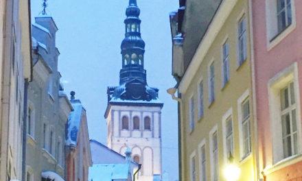 Vinterpasteller i Tallinn