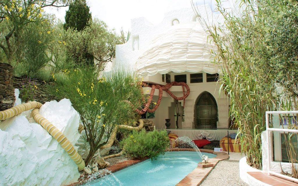 At Salvador Dali's home in Port Lligat, Costa Brava