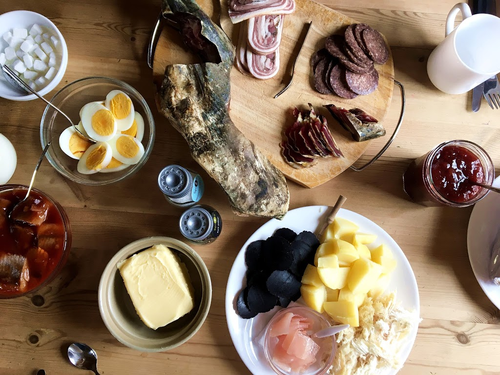 The local and traditional taste of the Faroe Islands