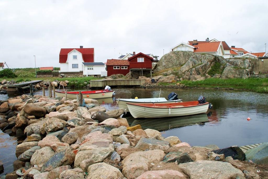 På øyloffing i den Svenske skjærgården
