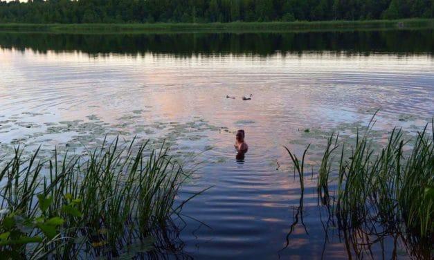 Tradisjonsrik saunaspa i Latvia