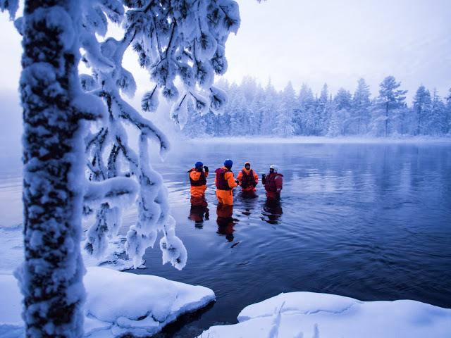 5 artige, under frysepunktet, opplevelser i Ruka