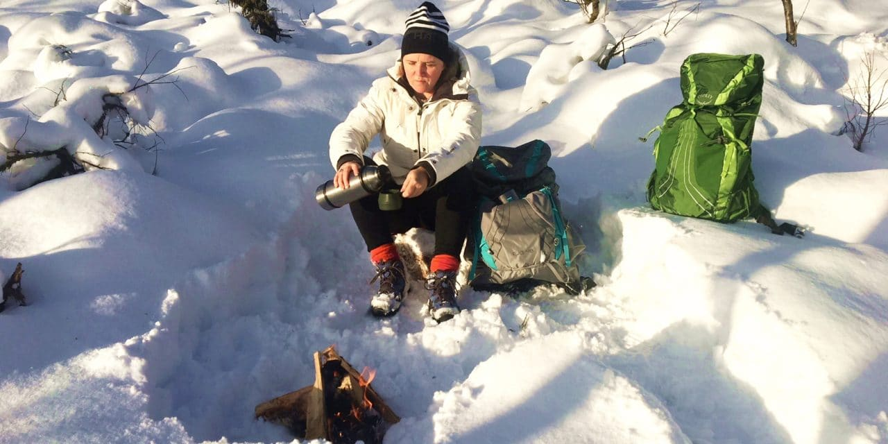 Med ryggsekk på tur – test av Osprey Eja og Exos tursekk