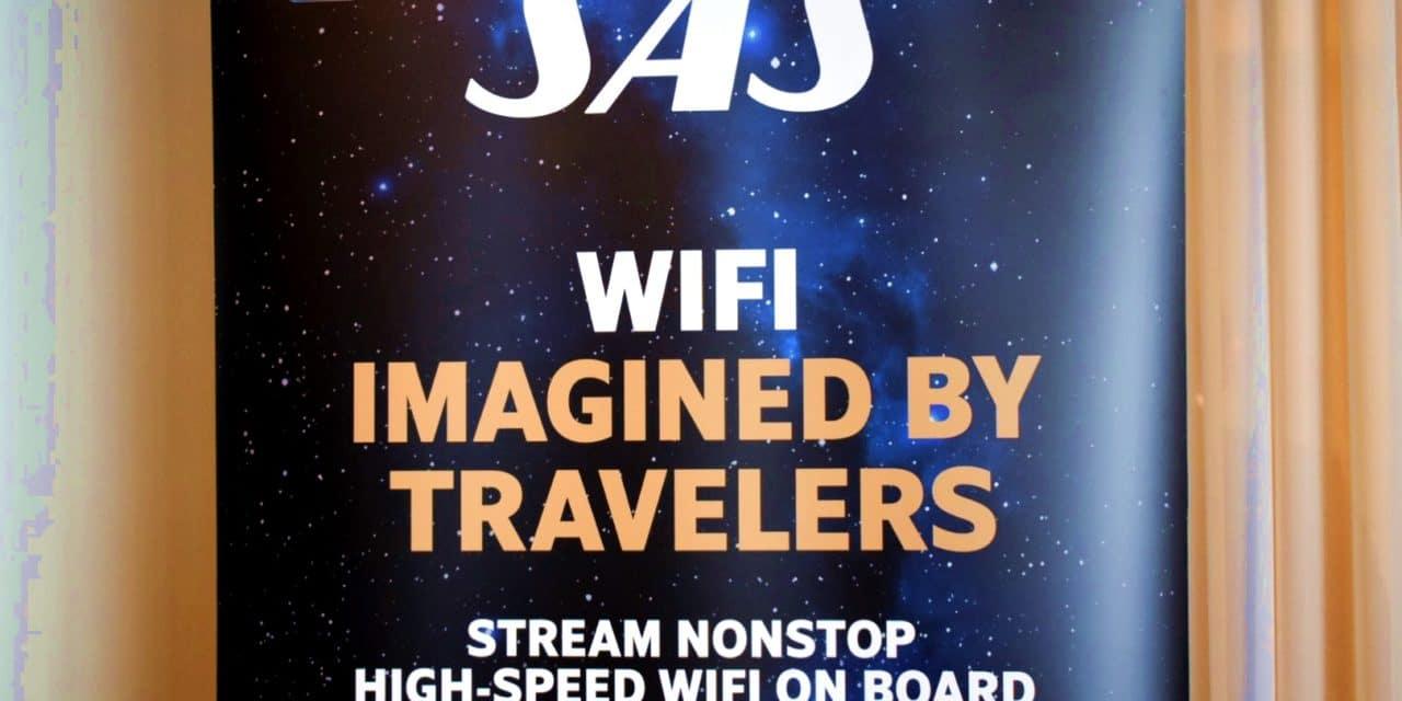 SAS først i Norden med high speed WiFi