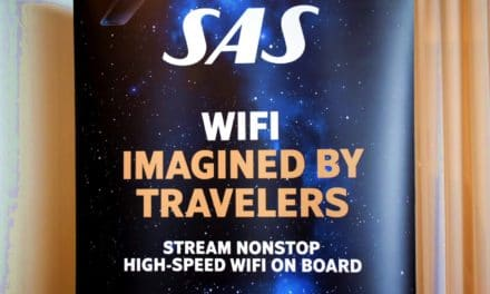 SAS først i Norden med high speed WiFi