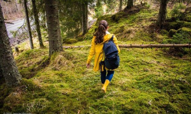 På skogstur med Osprey HikeLite 18l