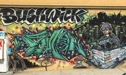 Gatekunst på høyt nivå i Bushwick, New York