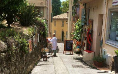 En dagstur til Mougins, Cote d'Azur