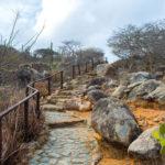 På fottur i Arikok Nasjonalpark på Aruba