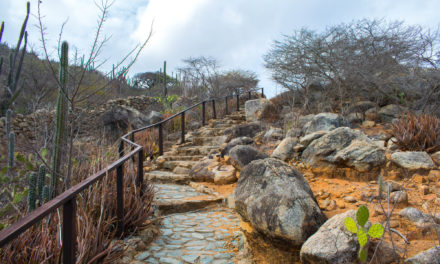 Hiking in Arikok National Park, Aruba