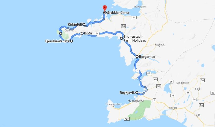 Reisetips Island Ta En Roadtrip Til Snaefellsnes Let S Get Lost