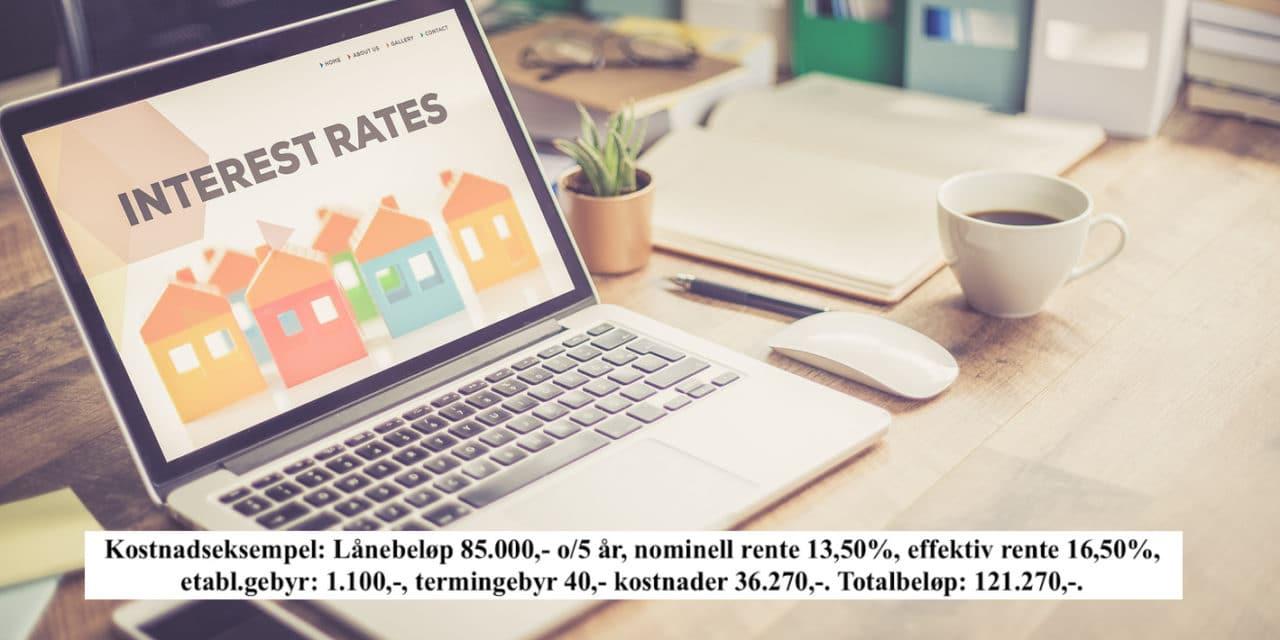Skal du søke lån? Flytende rente er det billigste alternativet