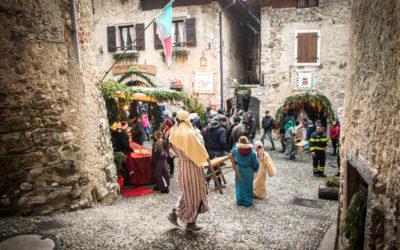 Italiensk julestemning og tre julemarked ved Gardasjøen