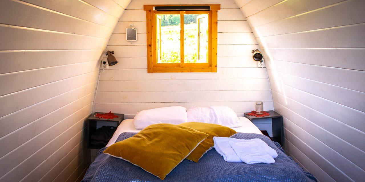 Bo i Pod-hus og klatre i tretoppene på Valsøya