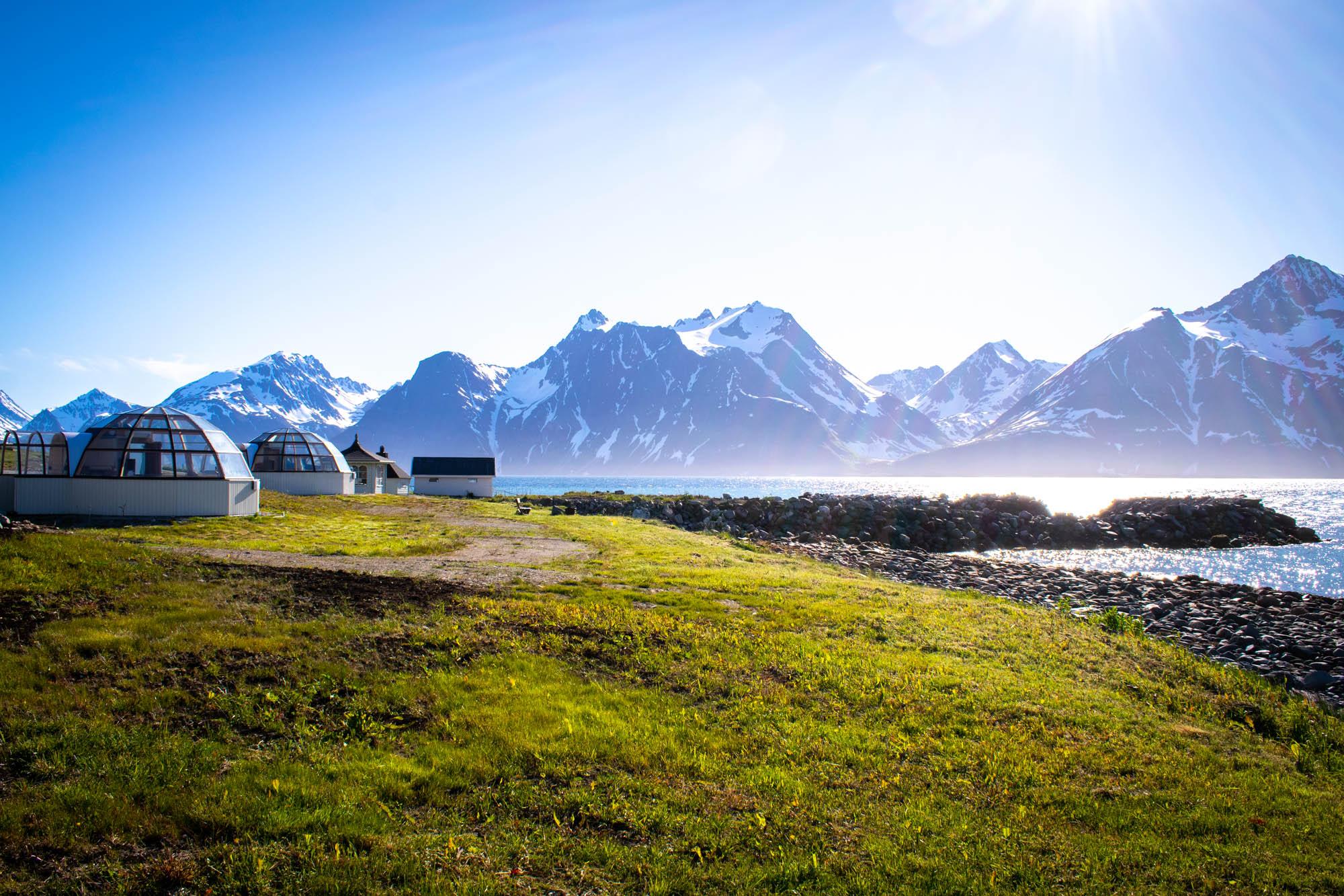 Lyngenfjord unik overnatting