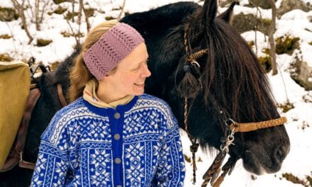 Eit vintereventyr der Sognefjorden går på land