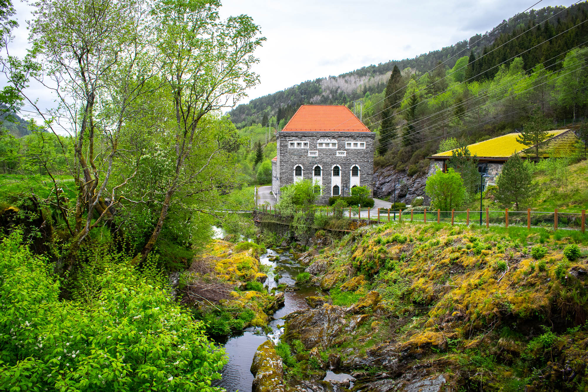 Herlandsfoss Kraftverk Osterøy