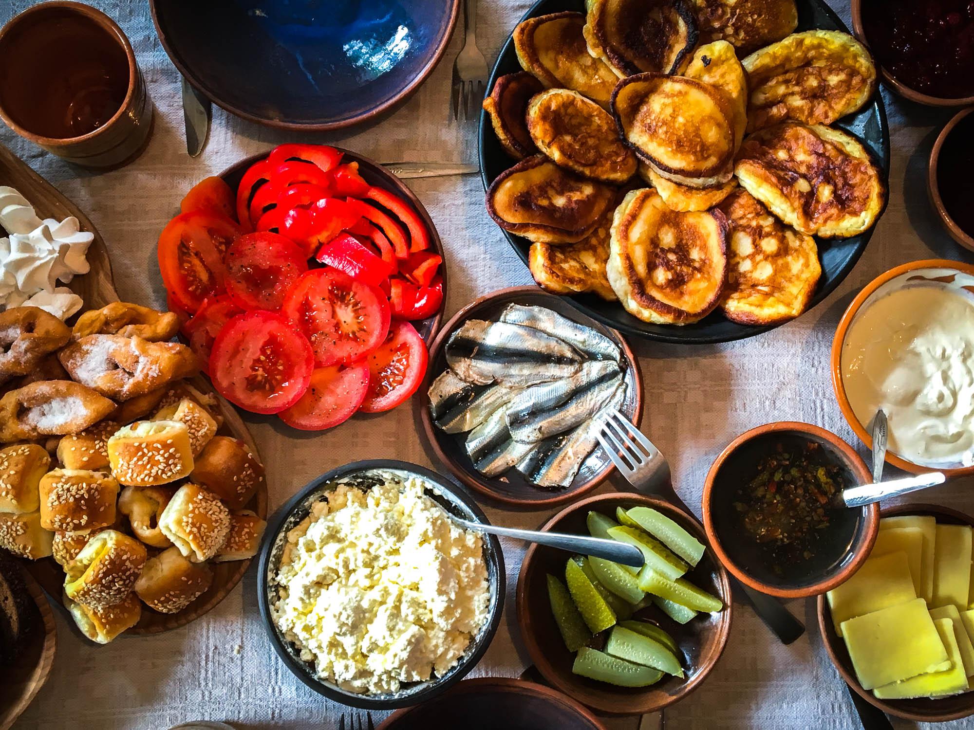 Tradisjonell mat fra Latvia