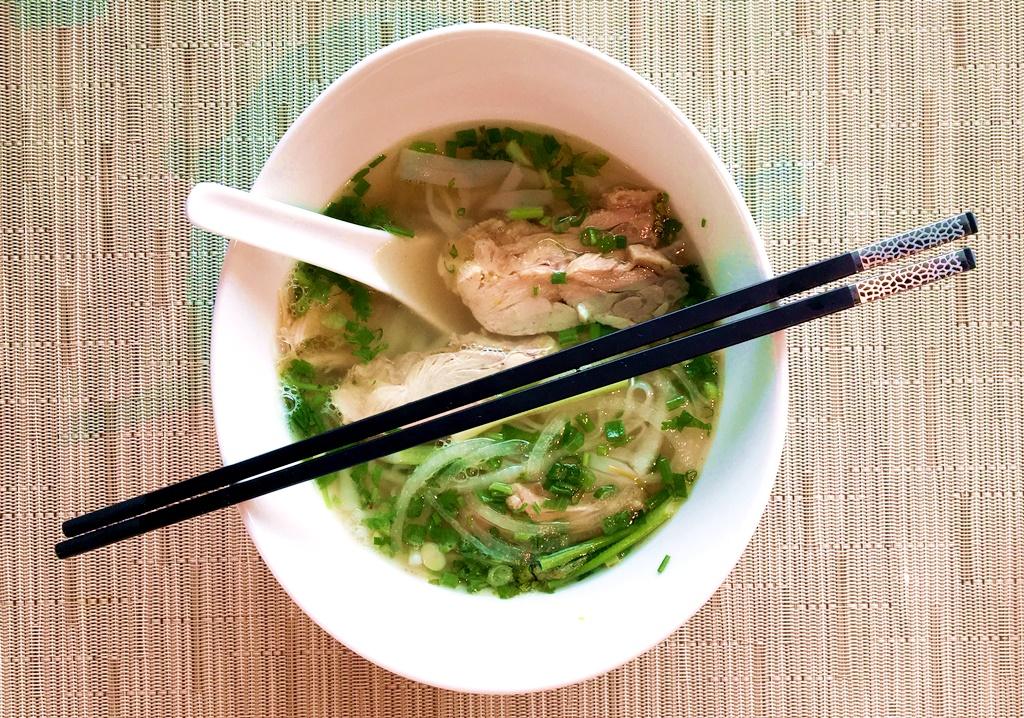 Pho fra Vietnam