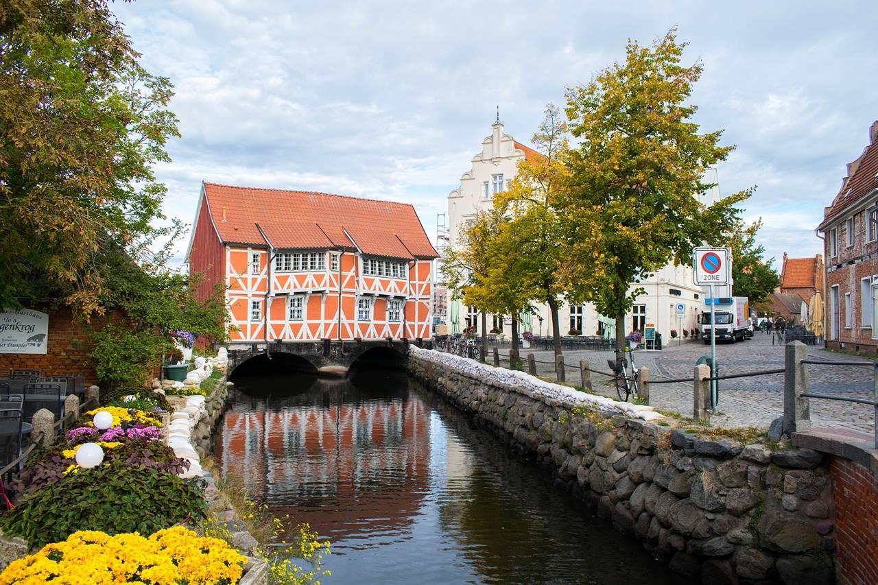 Gewölbe i Wismar