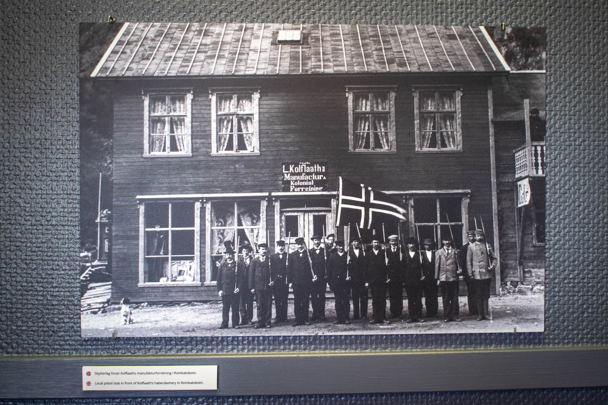 Bilde av rallarlivet i rombaksbotn hos Narvik Museum Nord