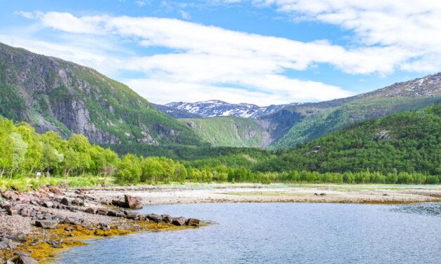Pop-up byen i Rombaksbotn ved Narvik