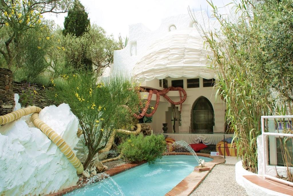 Hjemme hos Salvador Dali i Port Lligat, Costa Brava
