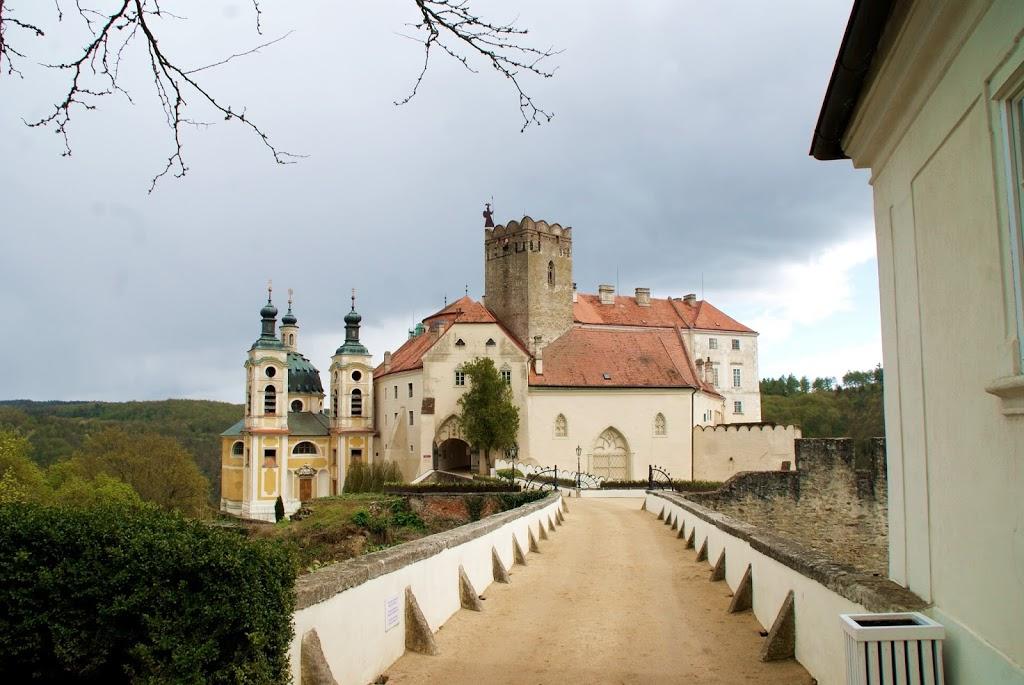 På slottsbesøk i Tsjekkia
