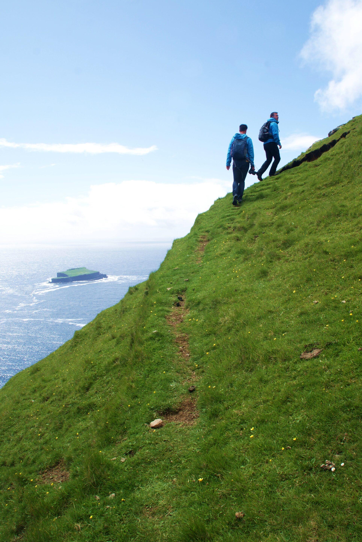 Fottur på Færøyene